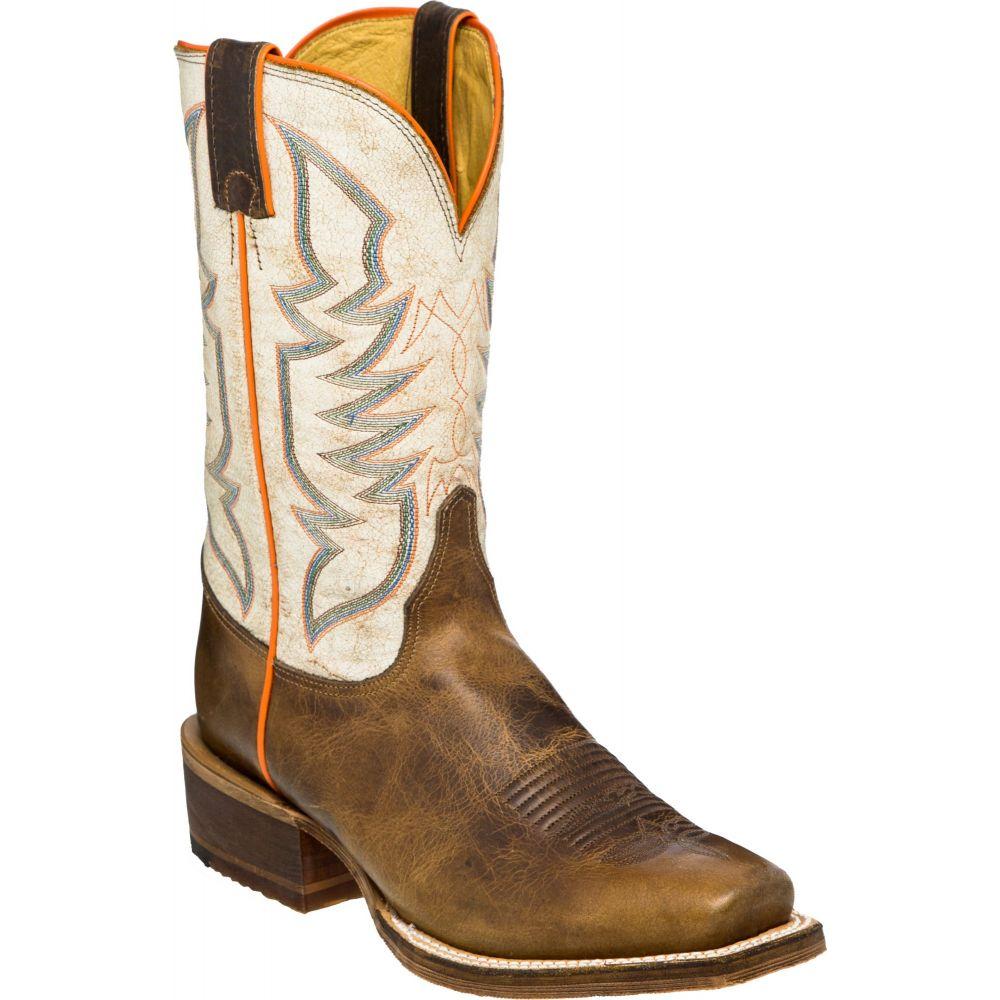 ジャスティン Justin メンズ ブーツ ウェスタンブーツ シューズ・靴【navigator tan western boots】Brown