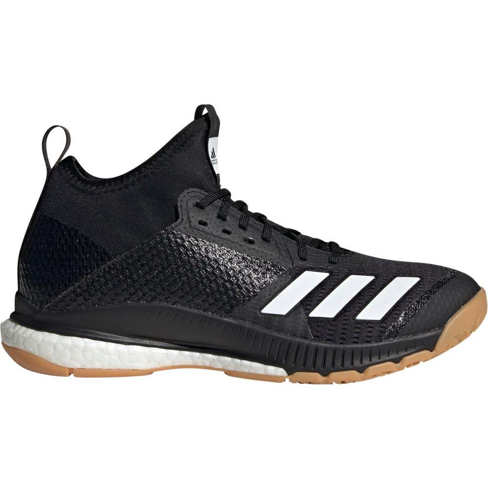 アディダス adidas レディース バレーボール シューズ・靴【crazyflight x 3 mid volleyball shoes】Black/Gum