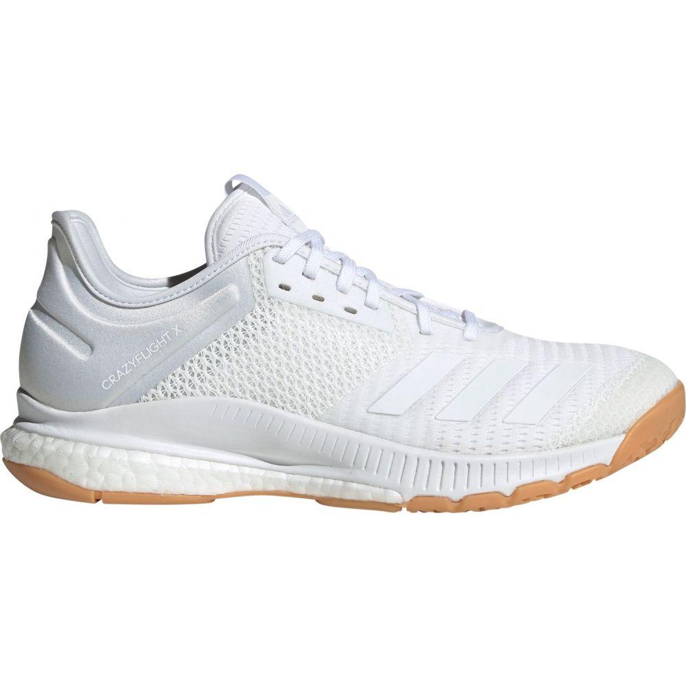 アディダス adidas レディース バレーボール シューズ・靴【crazyflight x 3 volleyball shoes】White/Gum