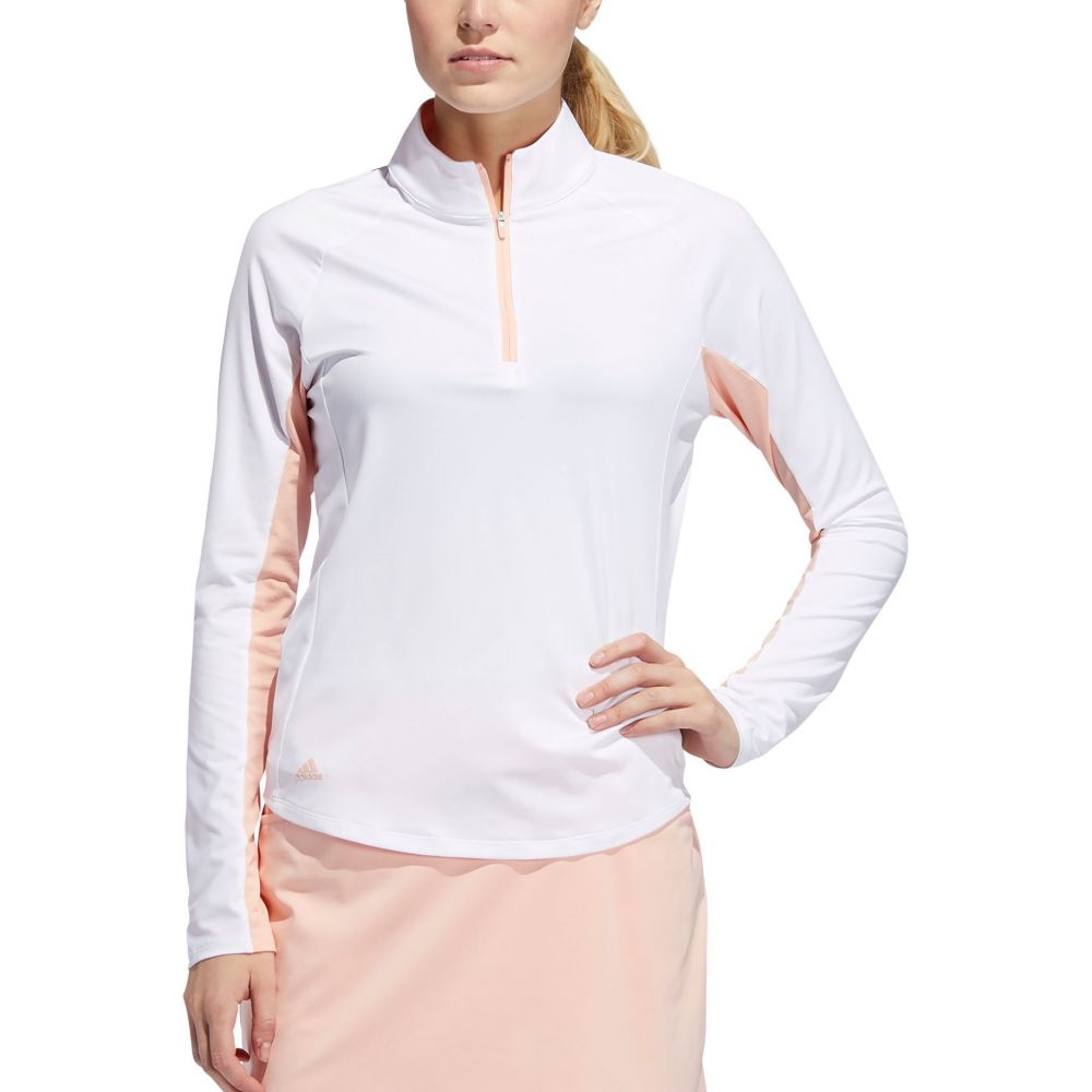 沸騰ブラドン アディダス adidas Long レディース adidas ゴルフ トップス【Ultimate ゴルフ Climacool Long Sleeve Golf Polo】White, LOVE GLITTER:d0fd7112 --- enduro.pl