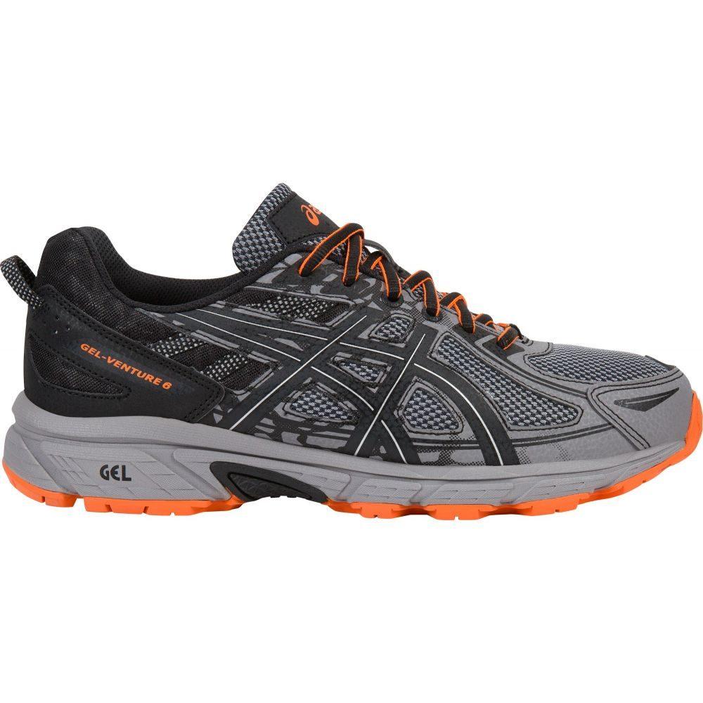 アシックス ASICS メンズ ランニング・ウォーキング シューズ・靴【GEL-Venture 6 Trail Running Shoes】Grey/Black/Orange