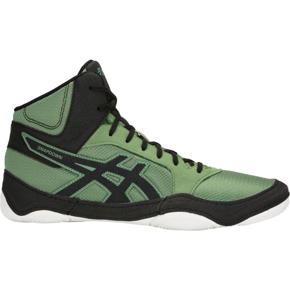 アシックス ASICS メンズ レスリング シューズ・靴【Snapdown 2 Wrestling Shoes】Green/Black
