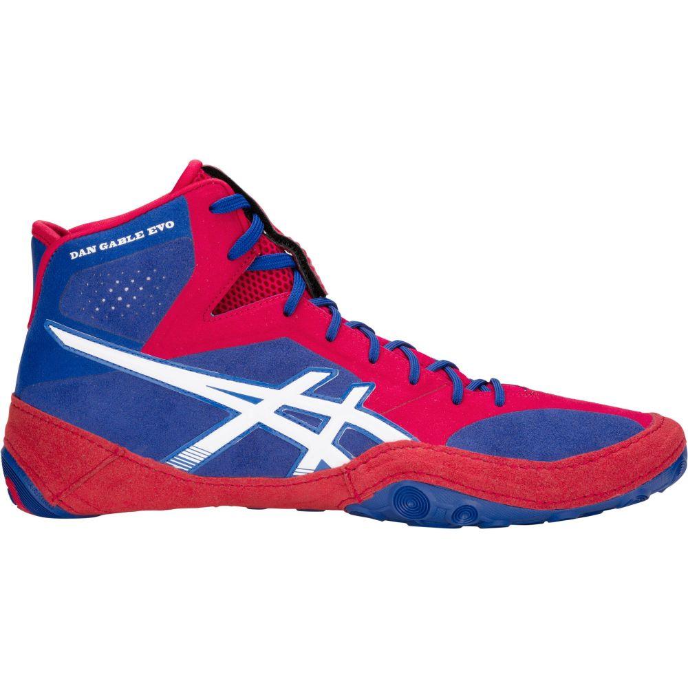 アシックス ASICS メンズ レスリング シューズ・靴【dan gable evo wrestling shoes】Blue/Red
