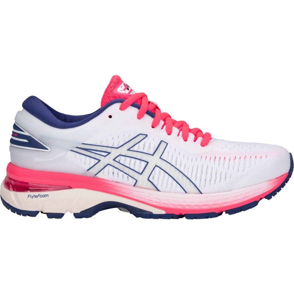 大注目 アシックス ASICS レディース 25 ASICS ランニング レディース・ウォーキング シューズ・靴【GEL-Kayano 25 Running Shoes】White/White, ルチアーノジェラート:d9c9a082 --- enduro.pl