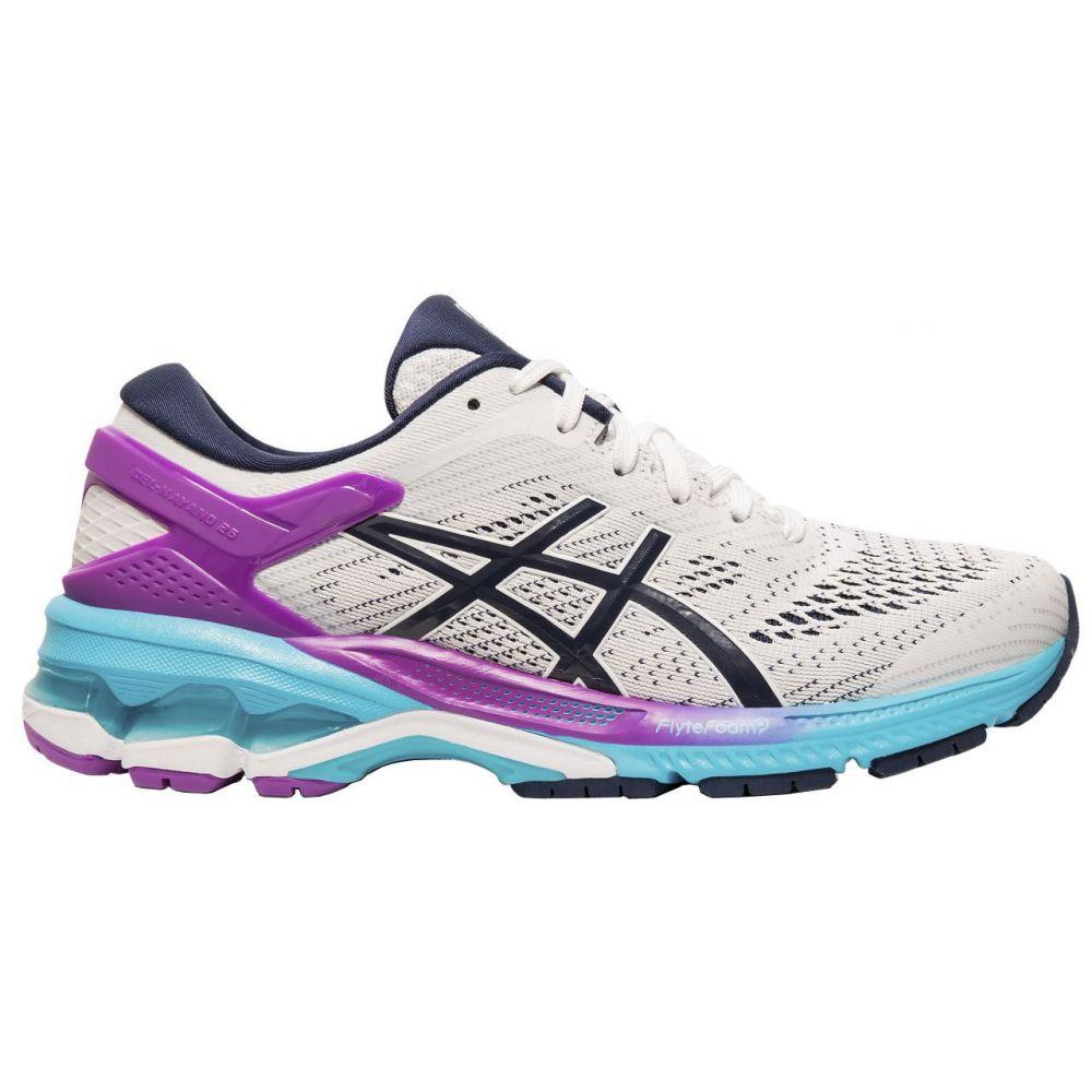 偉大な アシックス ASICS ASICS Shoes】White/Peacoat レディース ランニング・ウォーキング シューズ・靴 26【GEL-Kayano 26 Running Shoes】White/Peacoat, 緑町:105e7828 --- enduro.pl