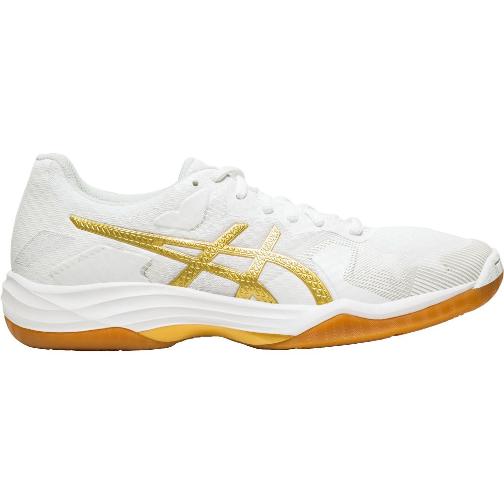 アシックス ASICS レディース バレーボール シューズ・靴【gel-tactic volleyball shoes】White/Gold