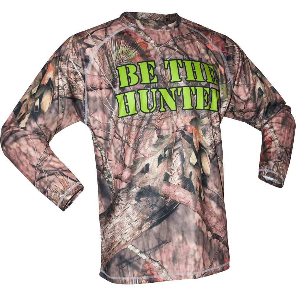 クリフ キーン Cliff Keen メンズ レスリング トップス【adult metcalf series 'be the hunter' long sleeve wrestling shirt】Camo