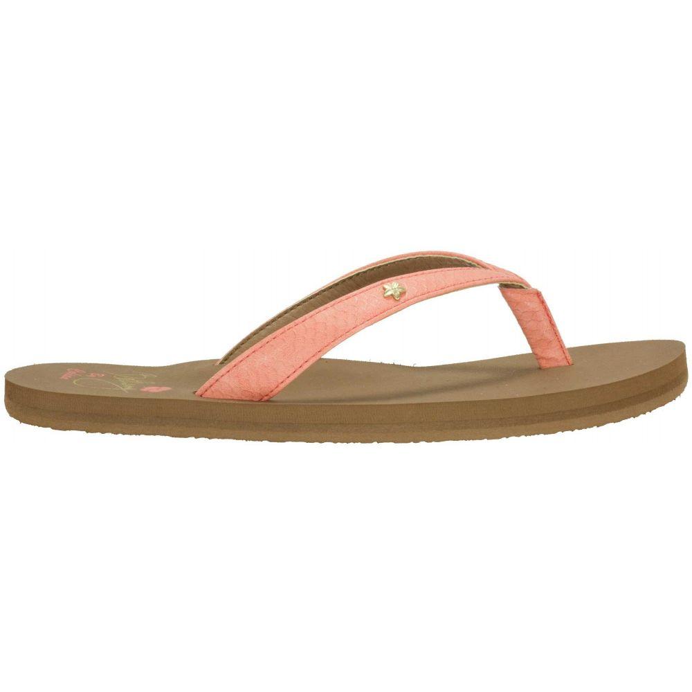 コビアン Cobian レディース シューズ・靴 ビーチサンダル【The Bethany Hanalei Flip Flops】Coral