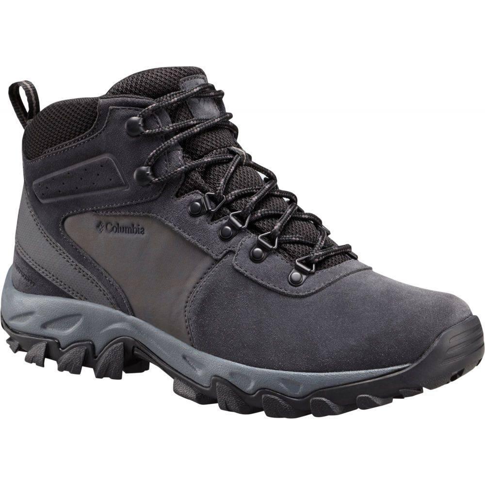 コロンビア Columbia メンズ ハイキング・登山 シューズ・靴【Newton Ridge Plus Suede Waterproof Hiking Boots】Shark/Black