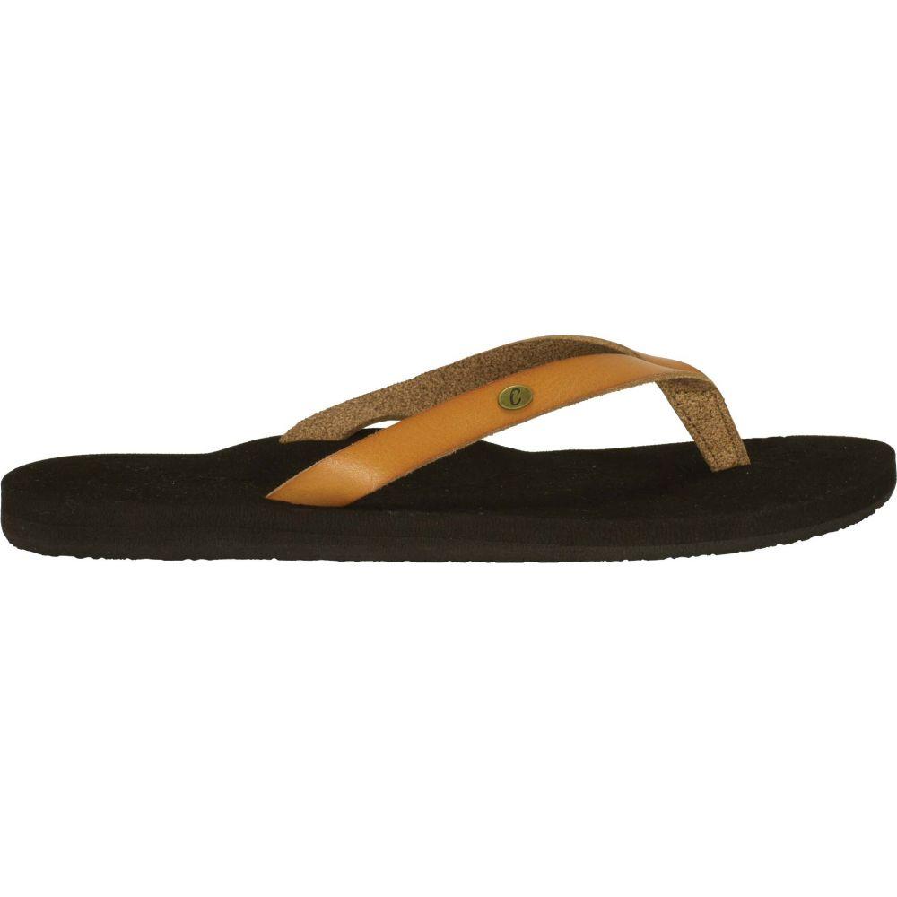 コビアン Cobian レディース シューズ・靴 ビーチサンダル【La Playita Flip Flops】Caramel