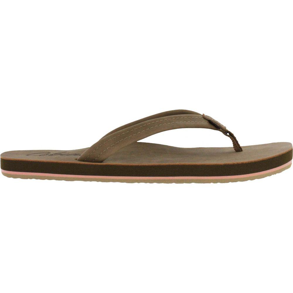 コビアン Cobian レディース シューズ・靴 ビーチサンダル【Pacifica Flip Flops】Tan