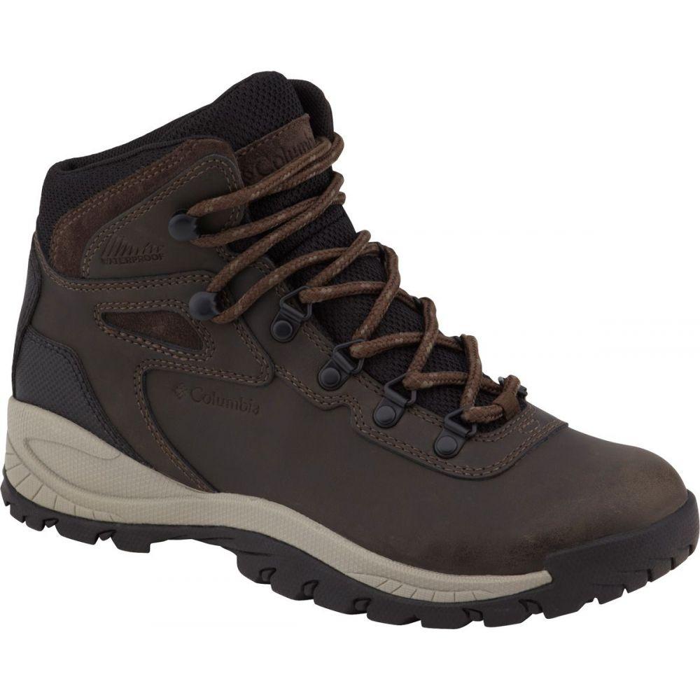 コロンビア Columbia レディース ハイキング・登山 シューズ・靴【Newton Ridge Plus Mid Waterproof Hiking Boots】Cordovan