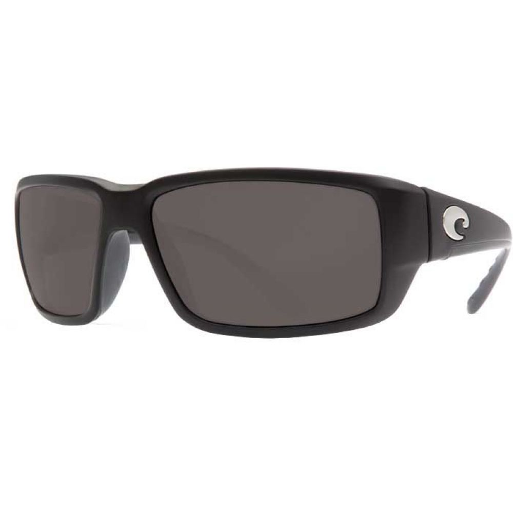 コスタデルメール Costa Del Mar メンズ メガネ・サングラス 【fantail 580g polarized sunglasses】Matte Black/Gray