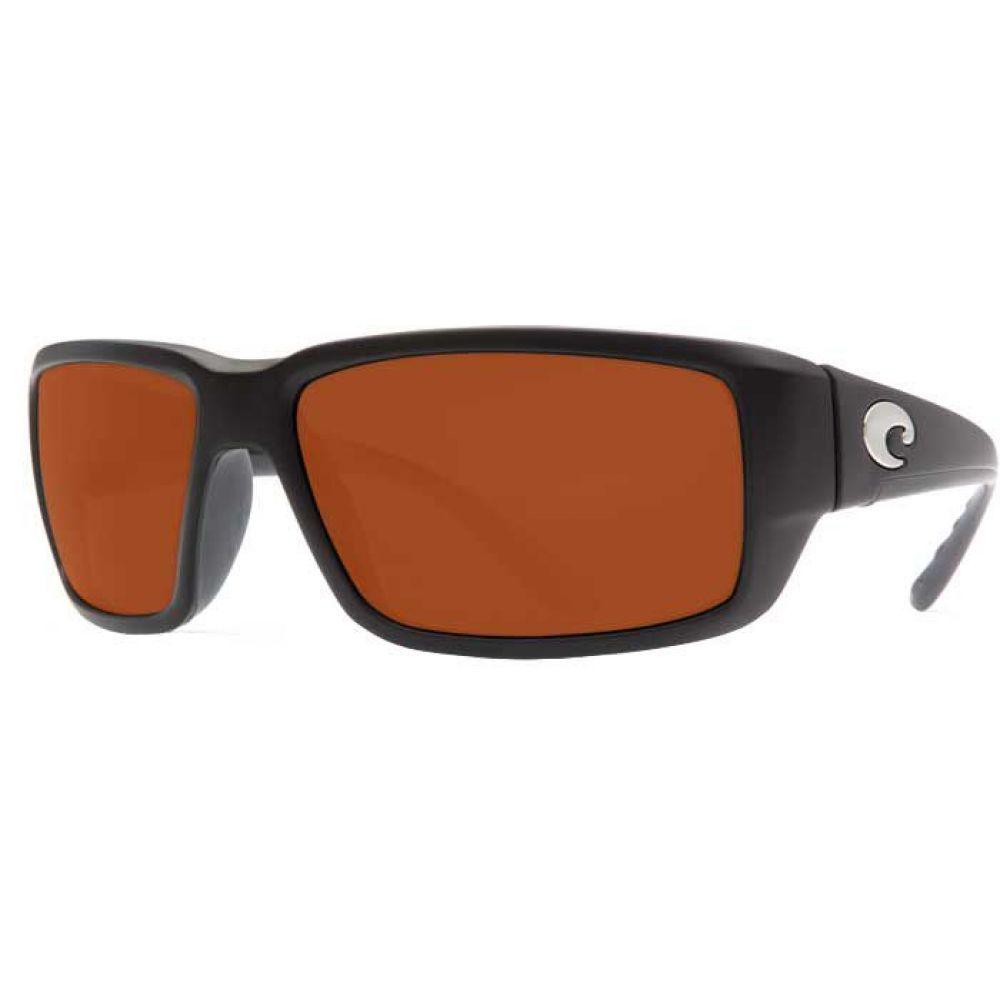 コスタデルメール Costa Del Mar メンズ メガネ・サングラス 【fantail 580g polarized sunglasses】Matte Black/Copper