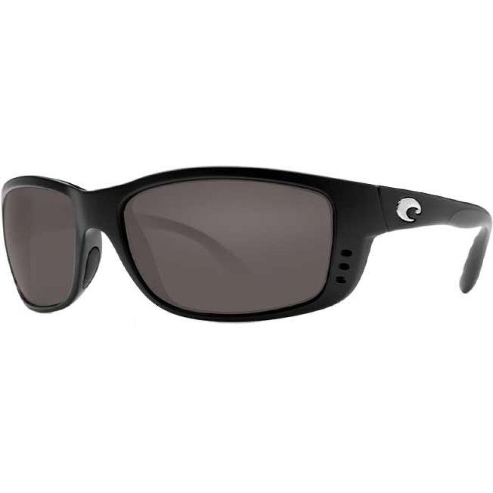 コスタデルメール Costa Del Mar メンズ メガネ・サングラス【Zane 580P Polarized Sunglasses】Matte Black/Gray