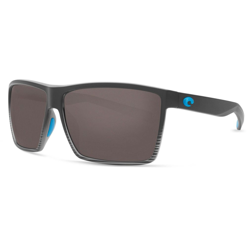 コスタデルメール Costa Del Mar メンズ メガネ・サングラス【Rincon 580P Polarized Sunglasses】Silver/Gray