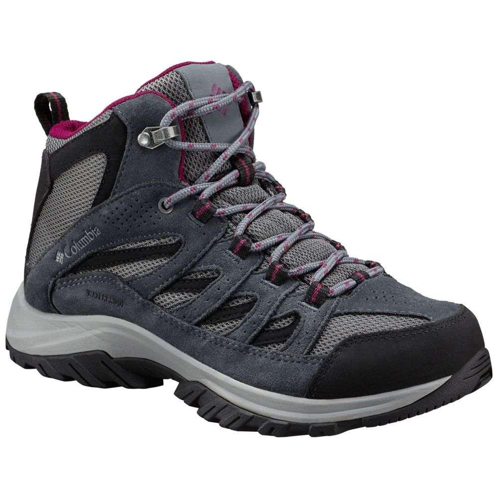 コロンビア Columbia レディース ハイキング・登山 シューズ・靴【Crestwood Mid Waterproof Hiking Boots】Ti Grey Steel/Raspberry