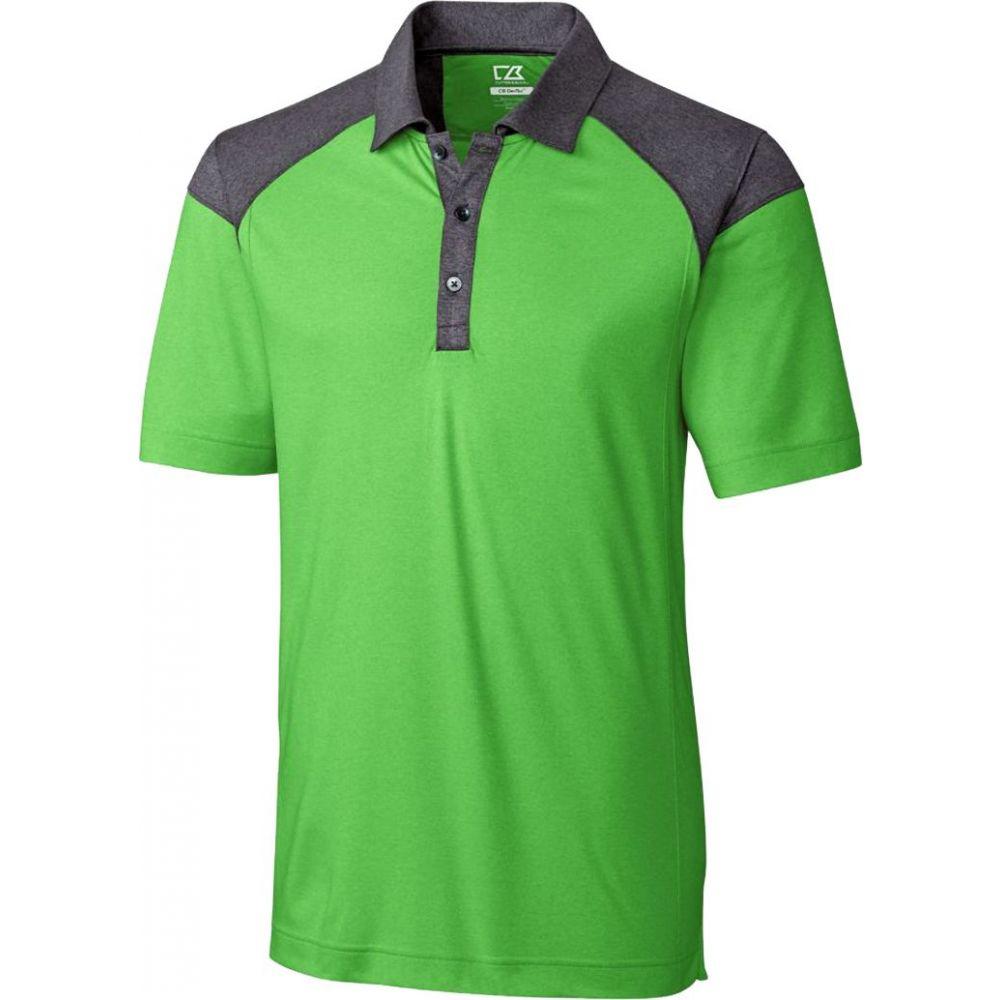 【使い勝手の良い】 カッター&バック ゴルフ Cutter & Buck メンズ ゴルフ トップス メンズ【CB DryTec トップス【CB Chelan Colorblock Golf Polo】Cilantro Heather, 姶良郡:2bdc10af --- enduro.pl