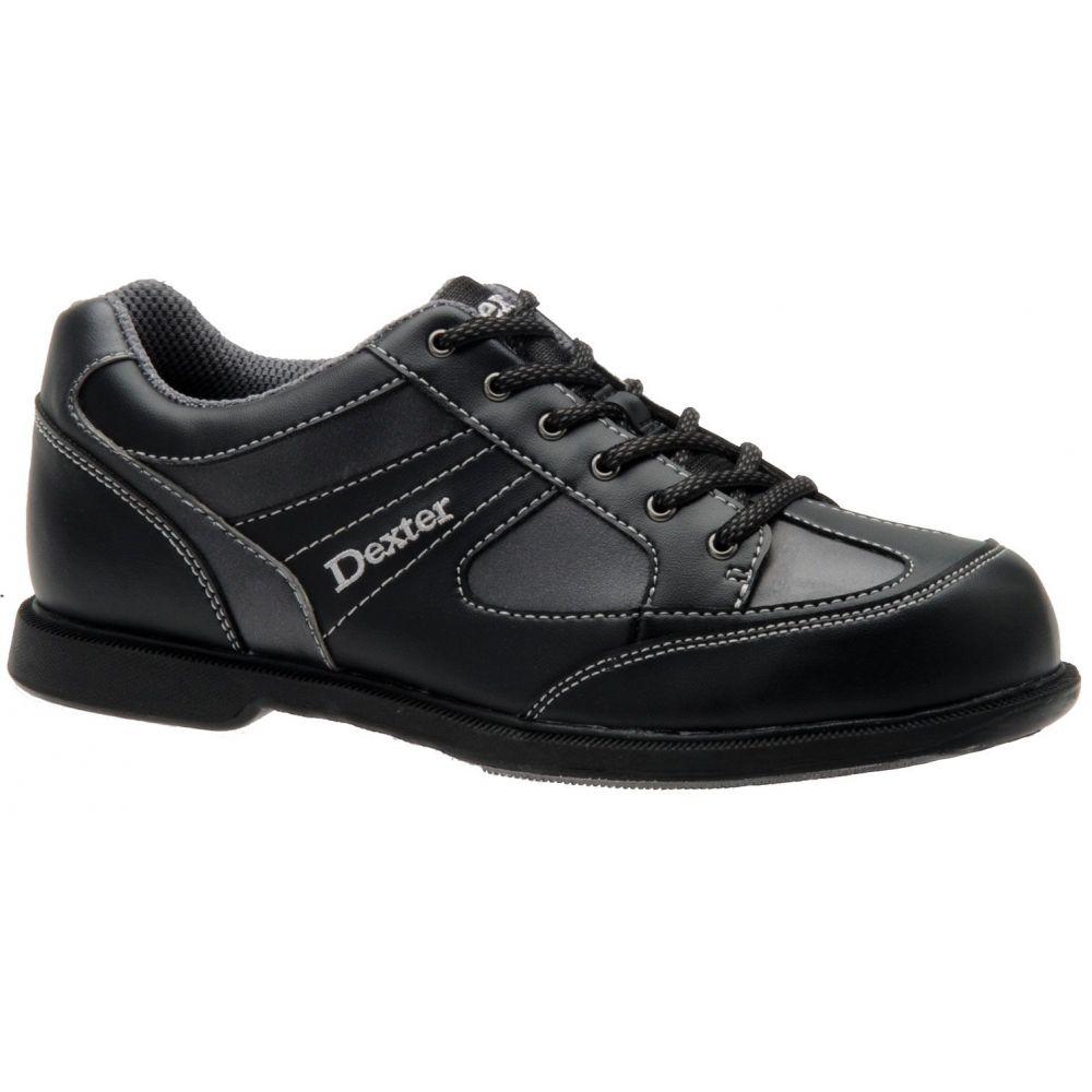 デクスター Dexter メンズ ボウリング シューズ・靴【pro am ii left hand bowling shoes】Black/Grey