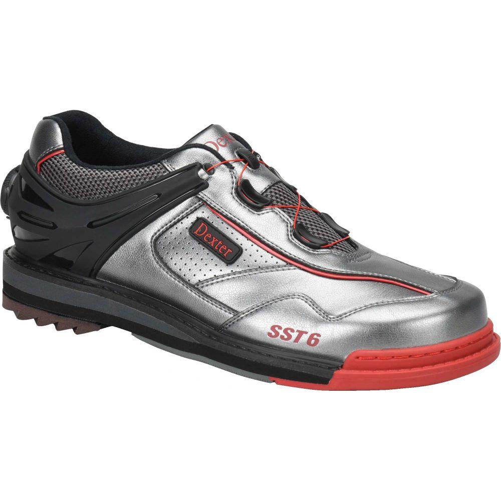 デクスター Dexter メンズ ボウリング シューズ・靴【sst 6 hybrid bowling shoes】Alloy/Black/Red
