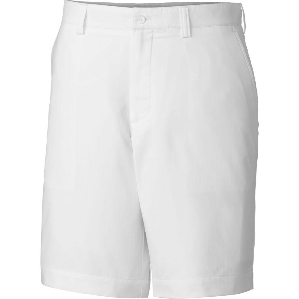 カッター&バック Cutter & Buck メンズ ゴルフ ボトムス・パンツ【DryTec Bainbridge Golf Shorts】White