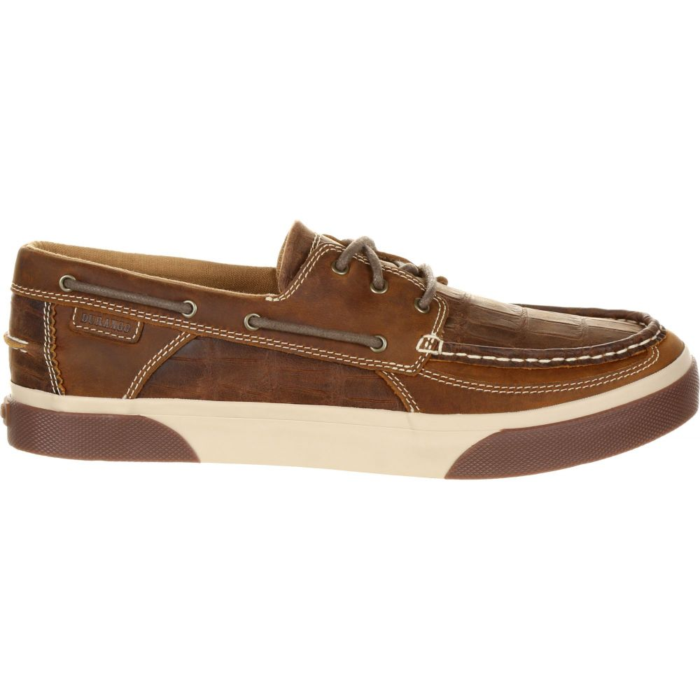 デュランゴ Gator Durango メンズ シューズ・靴 Brown デッキシューズ Old【Music City Gator Western Boat Shoes】Gator/Grand Old Brown, 東京ハンガー Life&Beauty:c27267dd --- officewill.xsrv.jp