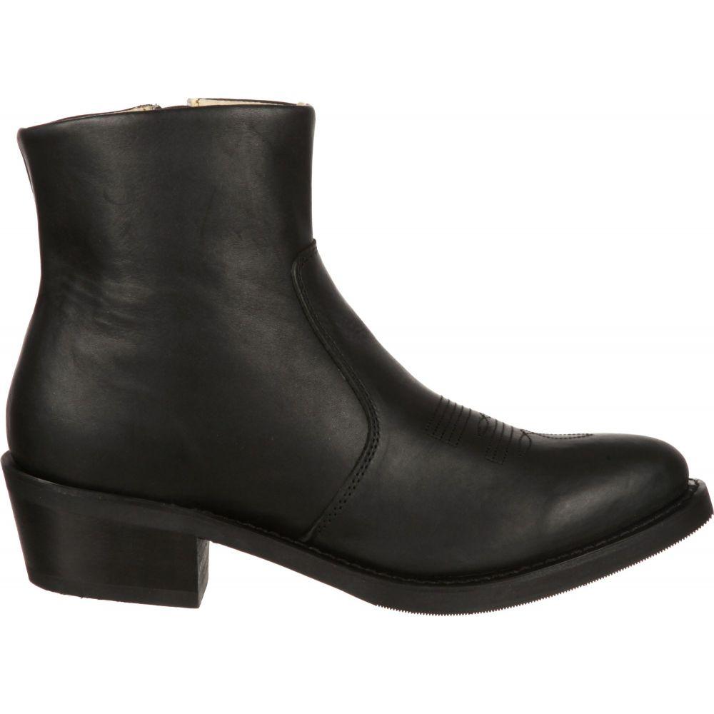 デュランゴ Durango レディース シューズ・靴 ブーツ【Black Side Zip Western Boots】Black