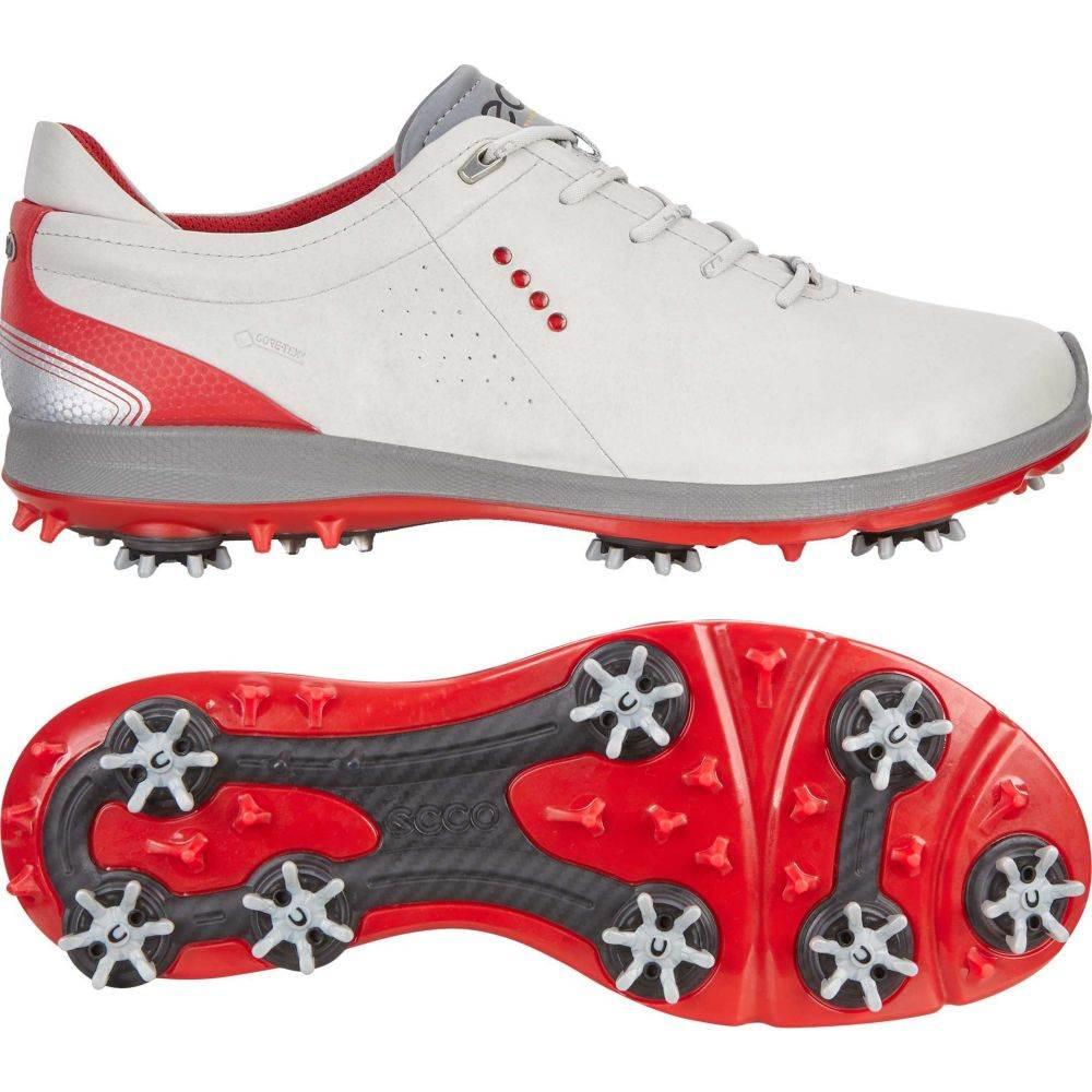 エコー ECCO メンズ ゴルフ シューズ・靴【biom g 2 free gtx golf shoes】Concrete/Scarlet