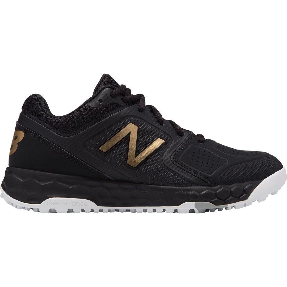 ニューバランス New Balance レディース 野球 シューズ・靴【Fresh Foam Velo 1 Turf Softball Cleats】Black/Black