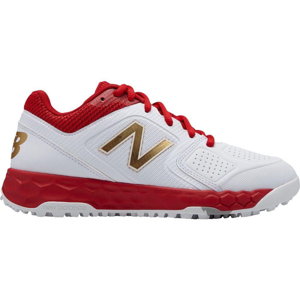 ニューバランス New Balance レディース 野球 シューズ・靴【Fresh Foam Velo 1 Turf Softball Cleats】White/Red