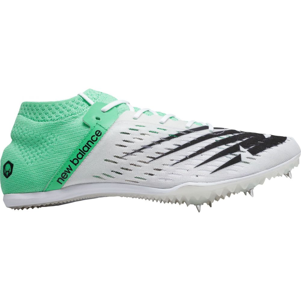 ニューバランス New Balance レディース 陸上 シューズ・靴【md800 v6 track and field shoes】White/Green