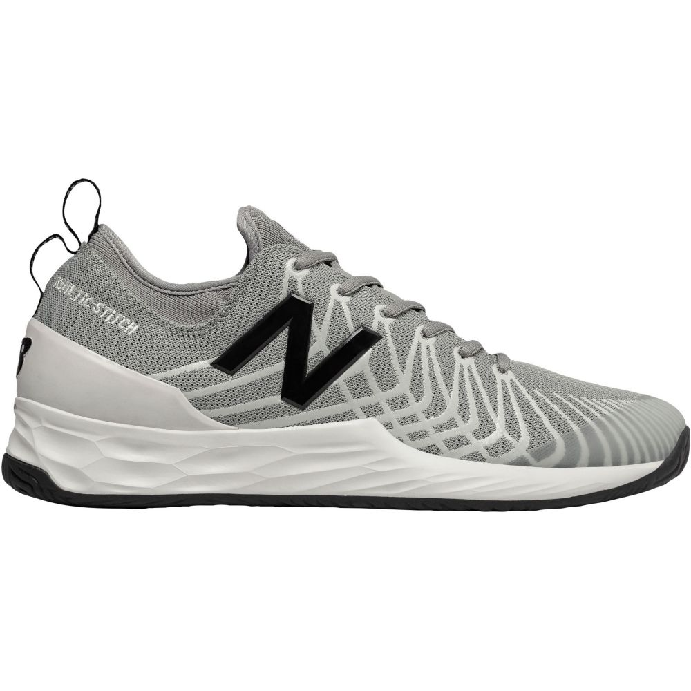 ニューバランス New Balance メンズ テニス シューズ・靴【Fresh Foam Lav Tennis Shoes】Grey/White/Black