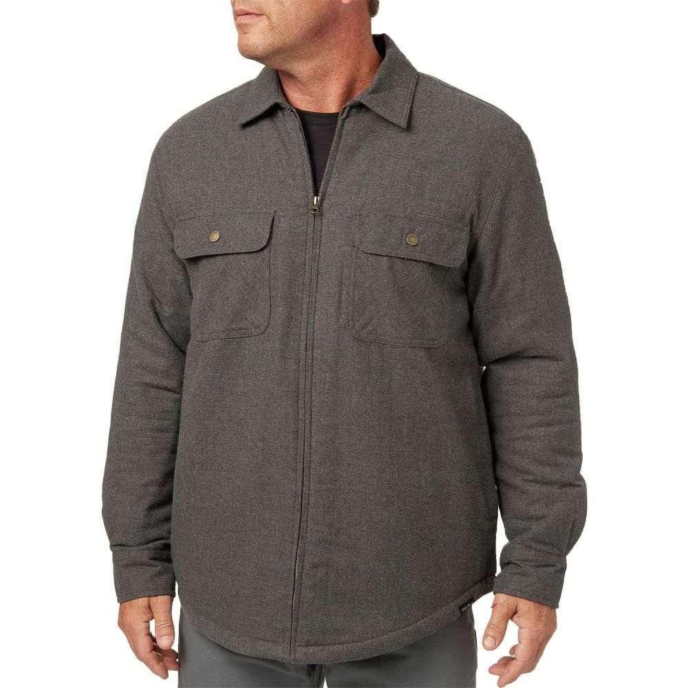 フィールドアンドストリーム Field & Stream メンズ アウター ジャケット【Sherpa Lined Shirt Jacket】Dark Grey Hthr