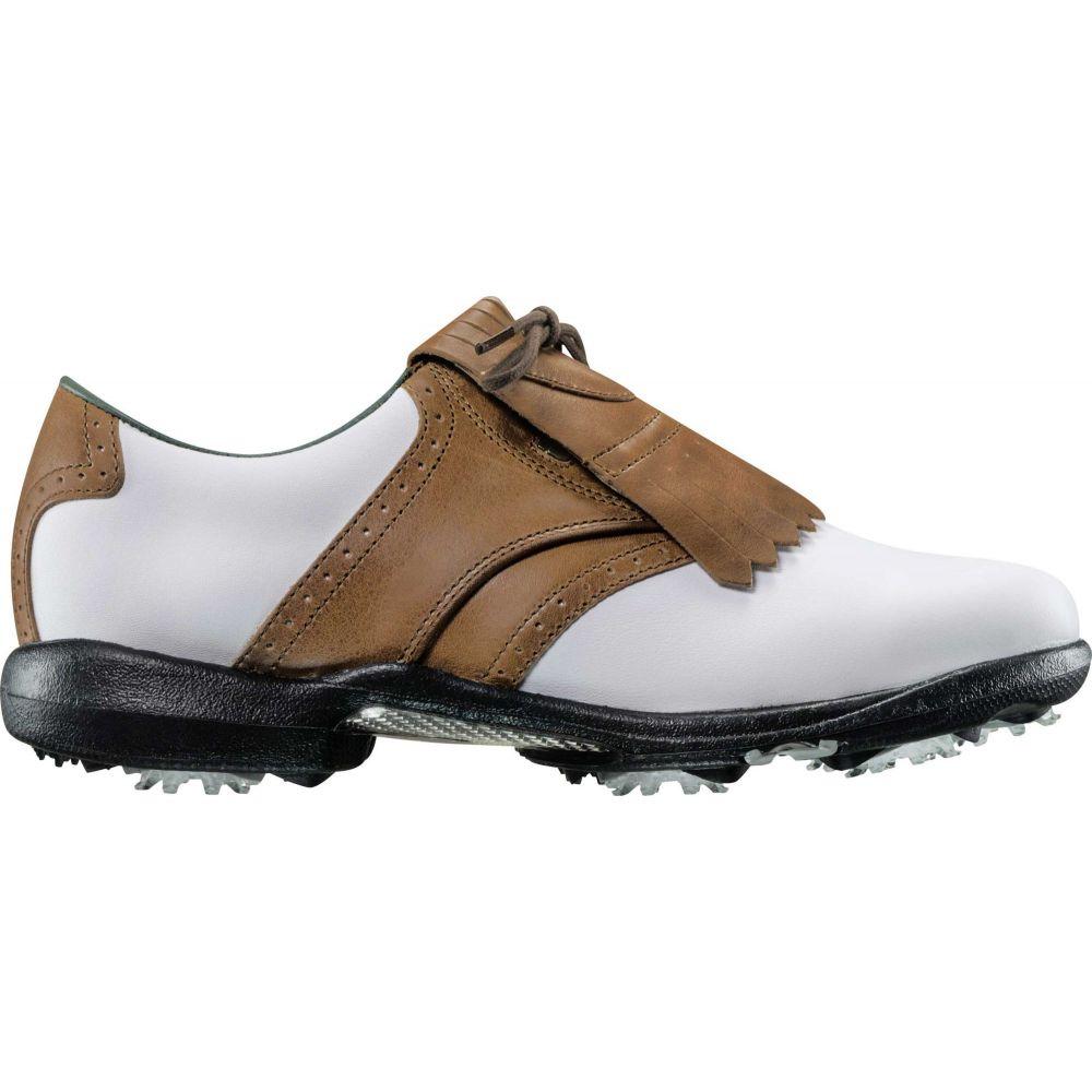 フットジョイ FootJoy レディース ゴルフ シューズ・靴【dryjoys golf shoes】White/Brown