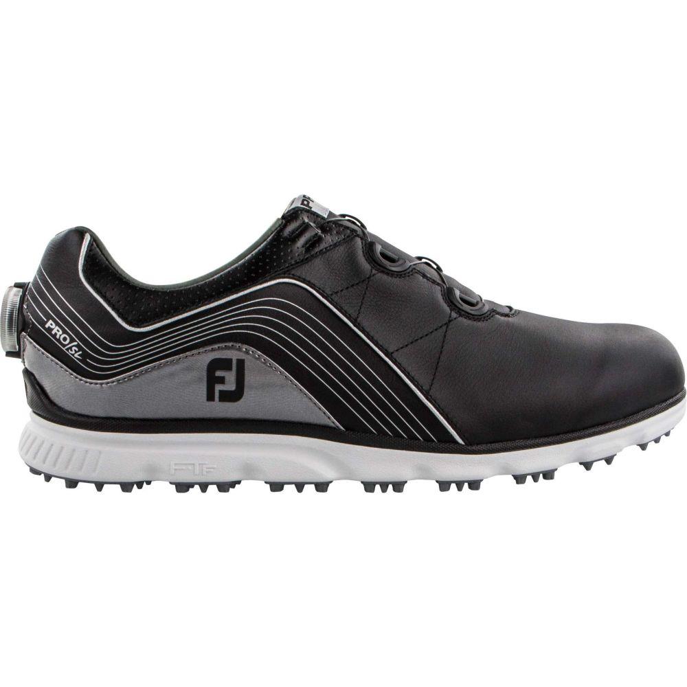 フットジョイ FootJoy メンズ ゴルフ シューズ・靴【2019 pro/sl boa golf shoes】Black/Silver