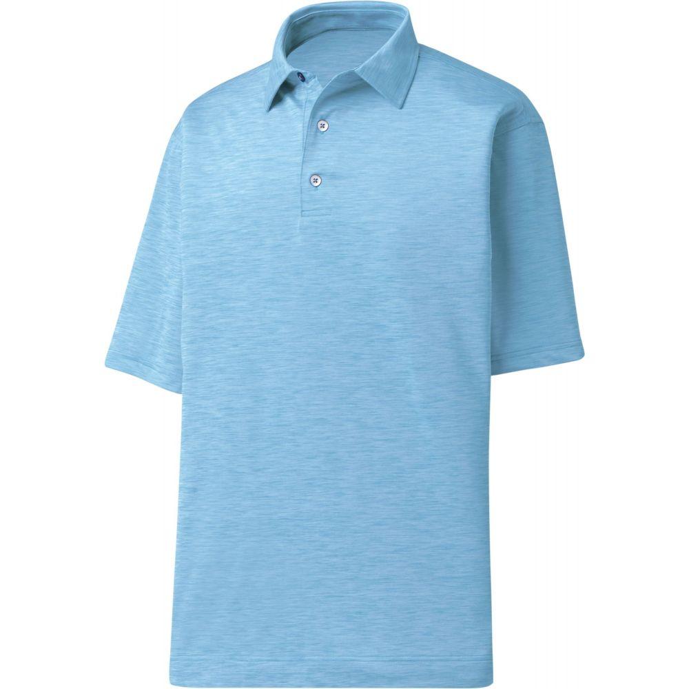 フットジョイ FootJoy メンズ ゴルフ ポロシャツ トップス【space dye golf polo】Light Blue