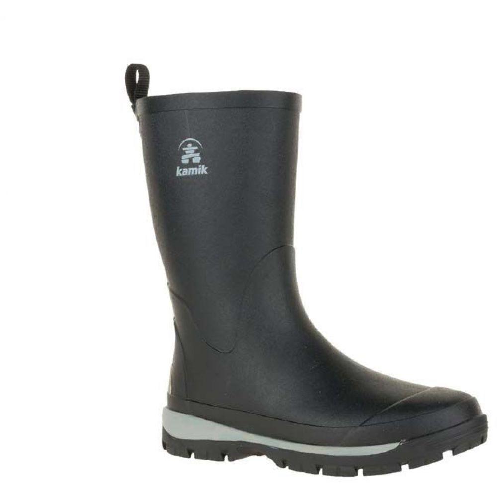 カミック Kamik メンズ レインシューズ・長靴 シューズ・靴【lars rain boots】Black