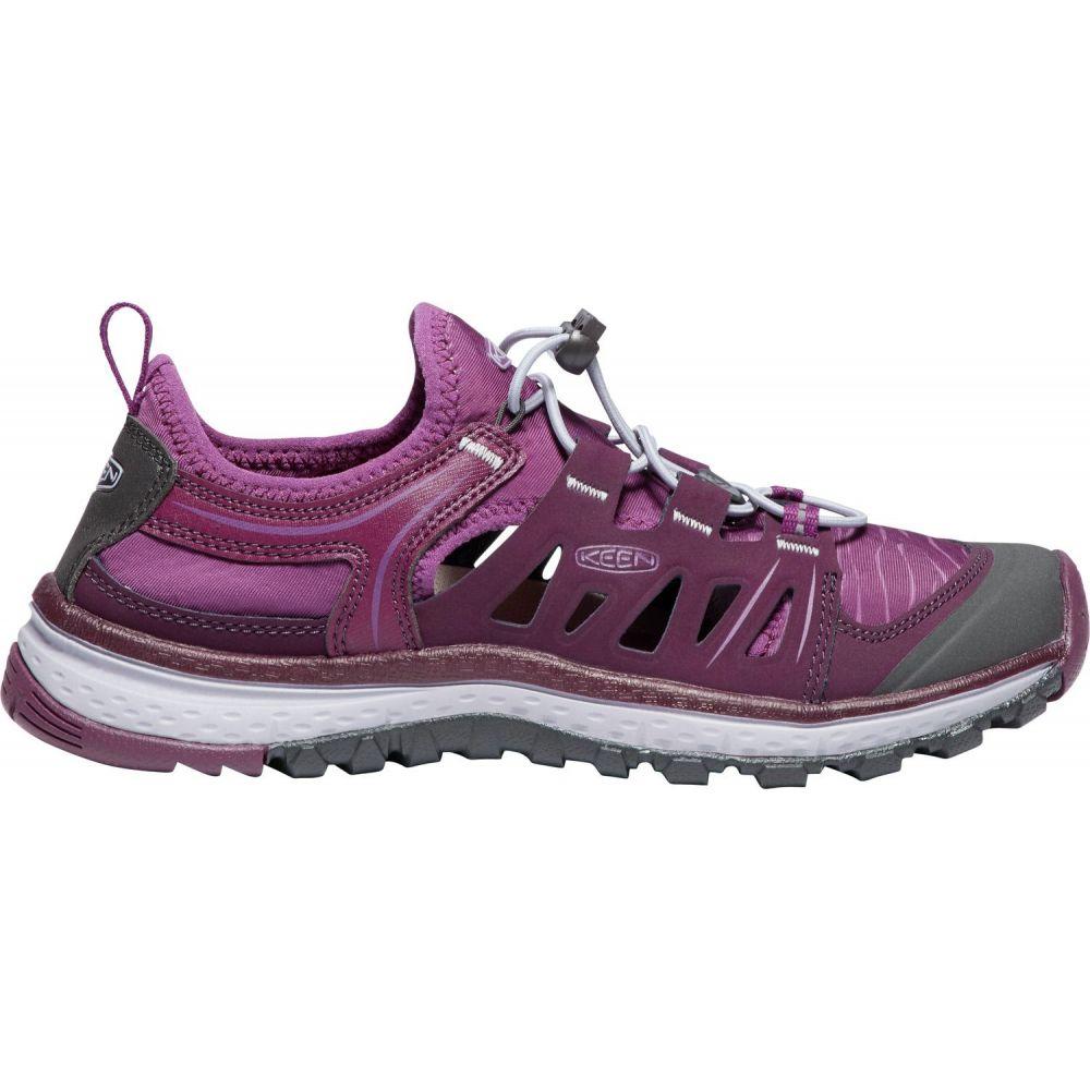 キーン Keen レディース ハイキング・登山 シューズ・靴【terradora ethos hiking shoes】Grape Wine/Grape Kiss