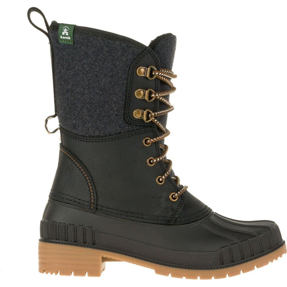 カミック Kamik レディース シューズ・靴 ブーツ【Sienna2 200g Waterproof Winter Boots】Black