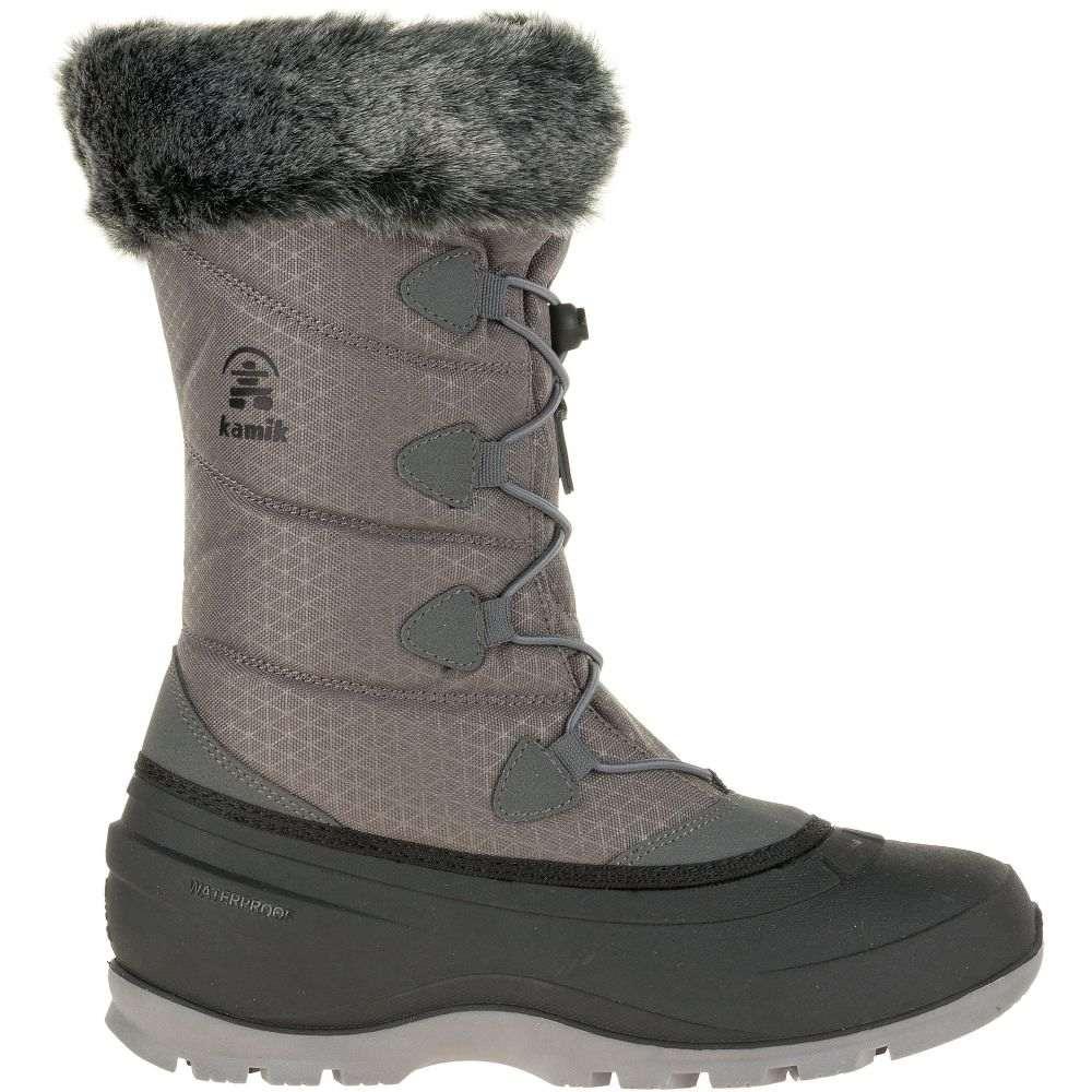 カミック Kamik レディース シューズ・靴 ブーツ【Momentum2 200g Waterproof Winter Boots】Charcoal
