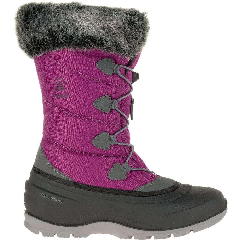 カミック Kamik レディース シューズ・靴 ブーツ【Momentum2 200g Waterproof Winter Boots】Violet