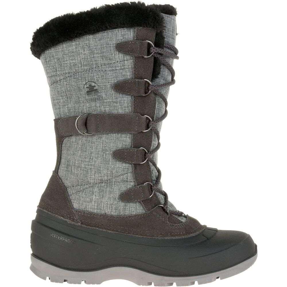カミック Kamik レディース シューズ・靴 ブーツ【Snovalley2 200g Waterproof Winter Boots】Charcoal