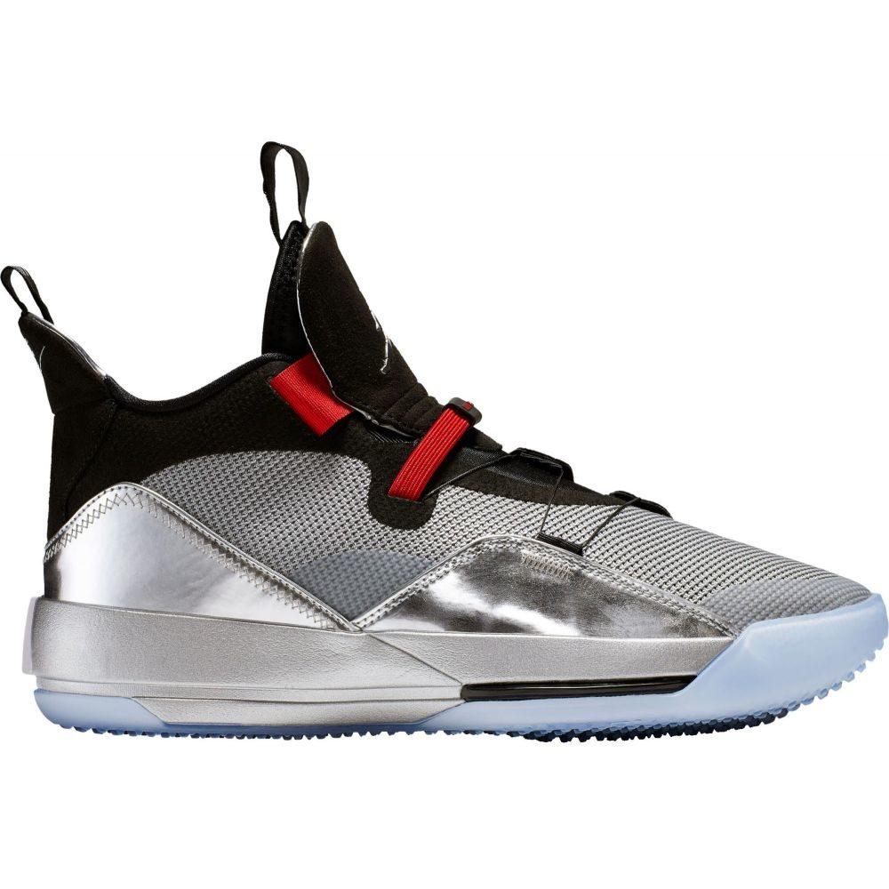 【おしゃれ】 ナイキ ジョーダン Jordan メンズ メンズ バスケットボール Basketball シューズ・靴【Nike Jordan Air XXXIII Basketball Shoes】Silver/Black, ジンセキグン:4ee25f6d --- enduro.pl