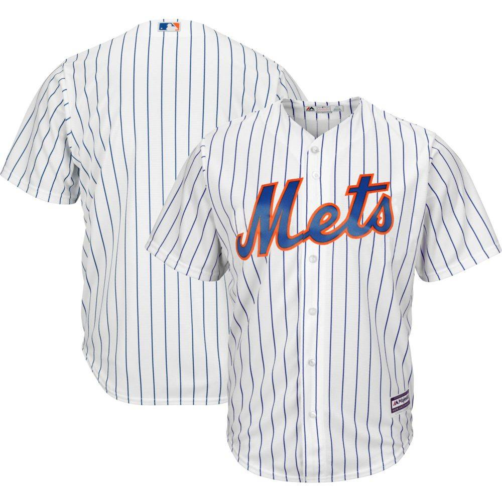 マジェスティック Majestic メンズ トップス【Replica New York Mets Cool Base Home White Jersey】