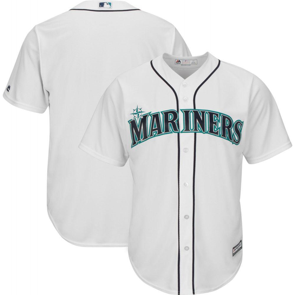 マジェスティック Majestic メンズ トップス【Replica Seattle Mariners Cool Base Home White Jersey】