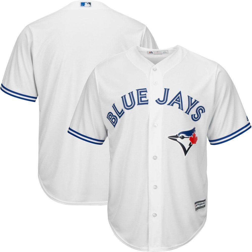 マジェスティック Majestic メンズ トップス【Replica Toronto Blue Jays Cool Base Home White Jersey】