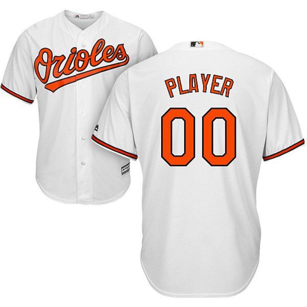 マジェスティック Majestic メンズ トップス【Full Roster Cool Base Replica Baltimore Orioles Home White Jersey】