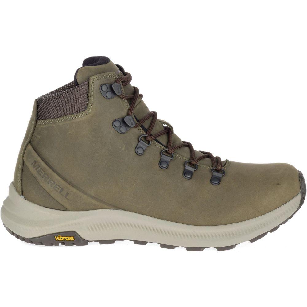 メレル Merrell メンズ ハイキング・登山 ブーツ シューズ・靴【ontario mid hiking boots】Olive