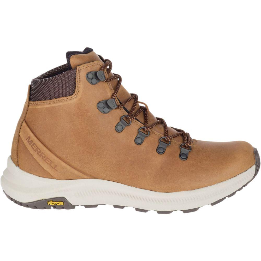 メレル Merrell メンズ ハイキング・登山 ブーツ シューズ・靴【ontario mid hiking boots】Brown Sugar