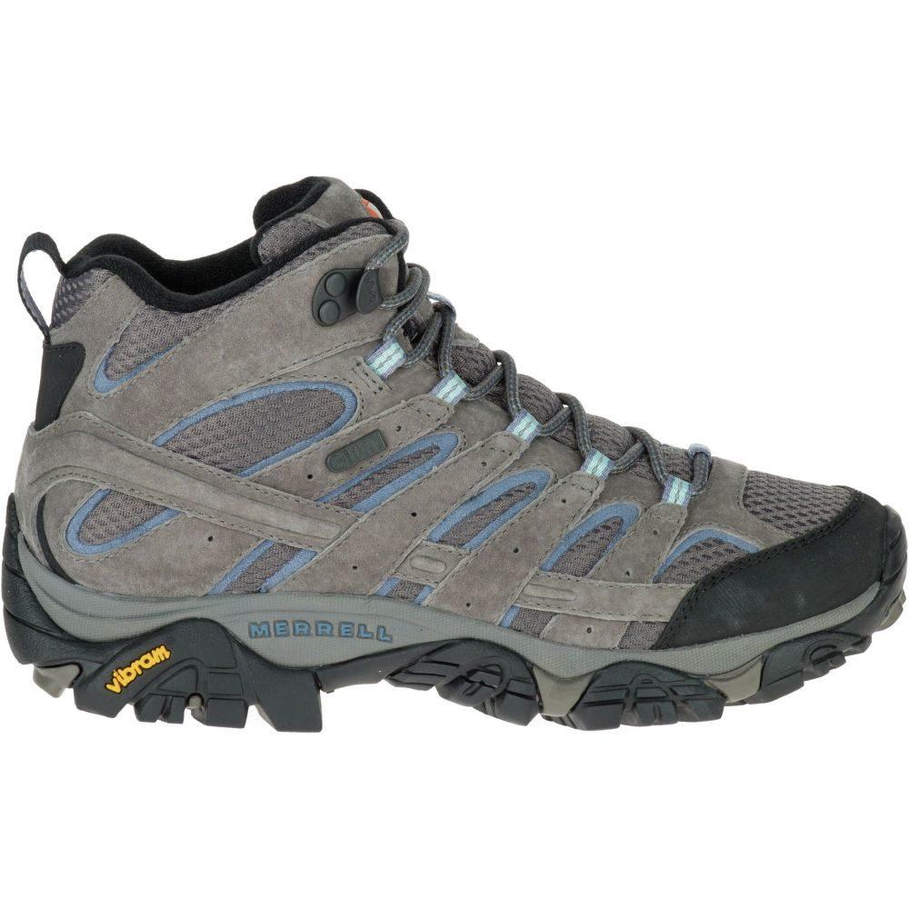 メレル Merrell レディース ハイキング・登山 ブーツ シューズ・靴【moab 2 mid waterproof hiking boots】Granite